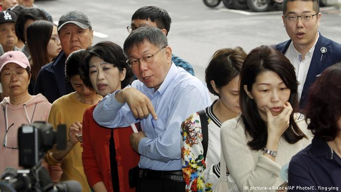 Taiwan - Midterm Wahlen (picture-alliance/AP Photo/C. Ying-ying)