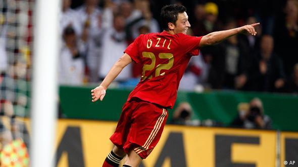 Germany's Mesut Oezil