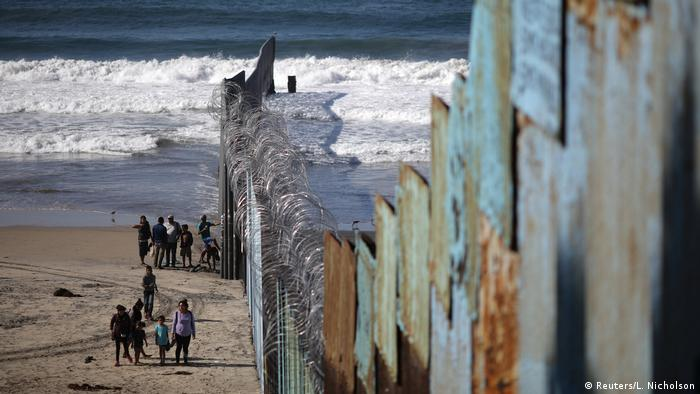 Mexiko USA Grenzzaun in Tijuana (Reuters/L. Nicholson)