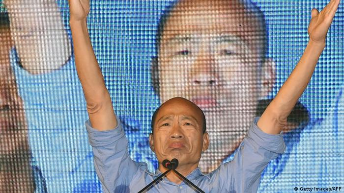 Taiwan Kommunalwahlen in Kaohsiung | Han Kuo-Yu (Getty Images/AFP)