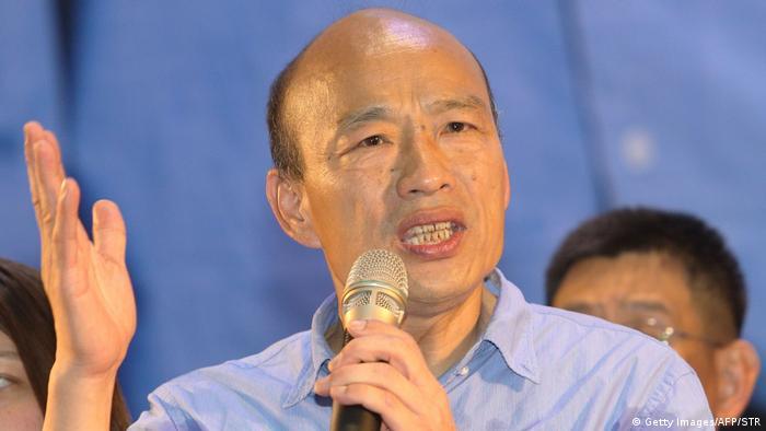 Taiwan Kommunalwahlen in Kaohsiung   Han Kuo-Yu