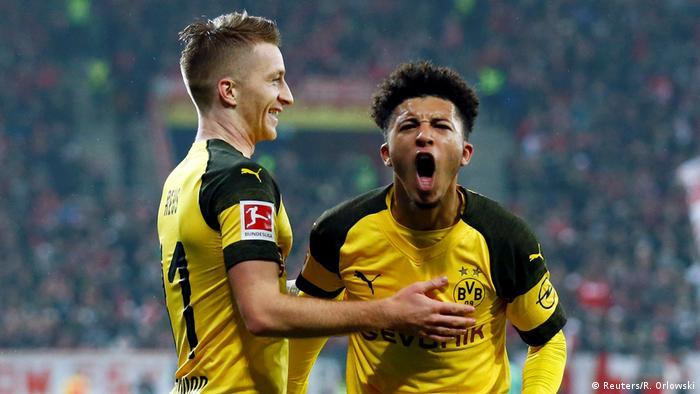 Fußball Bundesliga Mainz 05 - Borussia Dortmund (Reuters/R. Orlowski)