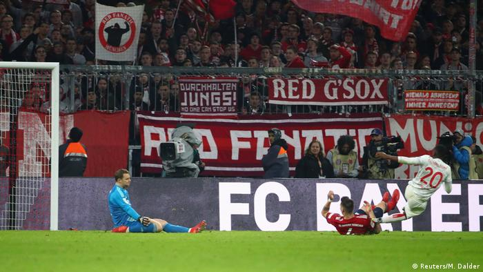 1. Bundesliga | Bayern München v Fortuna Düsseldorf | Tor (3:3) (Reuters/M. Dalder)
