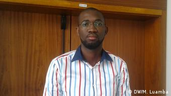 Angola Luanda Osvaldo Mboco Universitätsprofessor