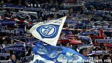 GELSENKIRCHEN, GERMANY - NOVEMBER 24: FC Schalke 04 fans prior to the Bundesliga match between FC Schalke 04 and 1. FC Nuernberg at Veltins-Arena on November 24, 2018 in Gelsenkirchen, Germany. (Photo by Maja Hitij/Bongarts/Getty Images)