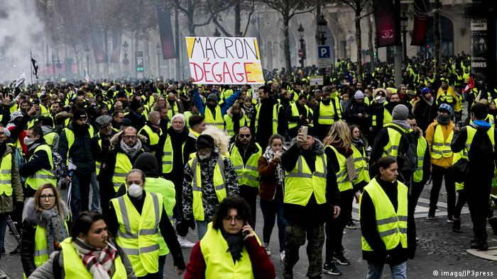 Recent yellow vests protests in Paris and other cities and roadways around France have turned violent, eliciting a response from French President Emmanuel Macron.