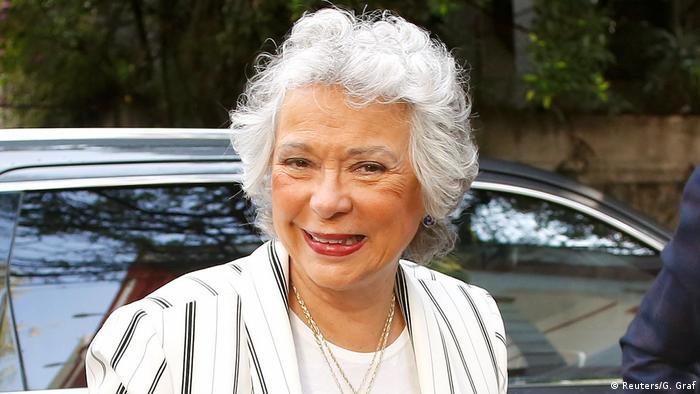 Olga Sánchez Cordero ist bald Mexikos Innenministerin