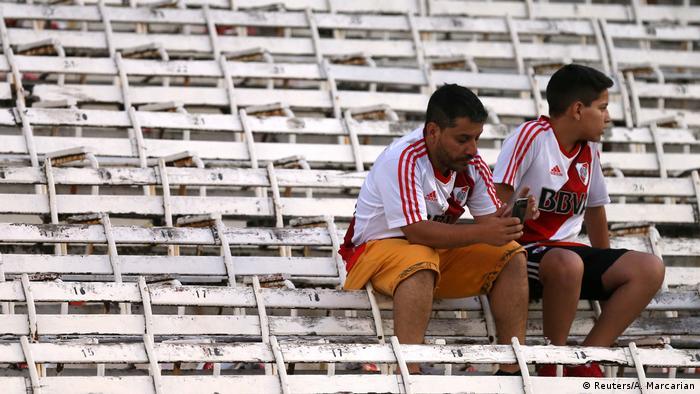 Argentinien Copa Libertadores-Finale verschoben