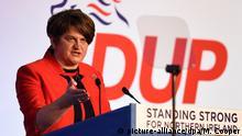Großbritannien DUP-Konferenz in Belfast - Arlene Foster