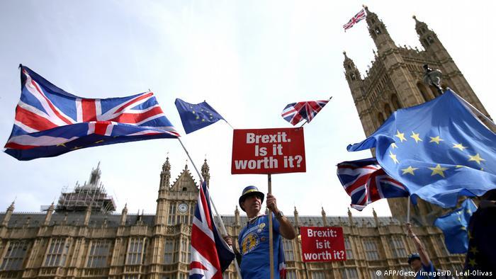 Демонстрація проти Brexit у Лондоні (фото з архіву)