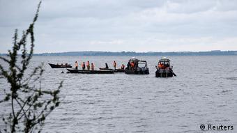 Bootsunglück auf dem Lake Viktoria in Uganda