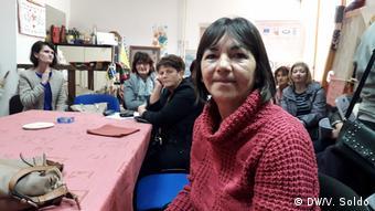 Bosnien und Herzegowina Mostar - Deutsche Hilfe für Frauen in Bosnien: Mevlida Delic aus Jablanica. (DW/V. Soldo)