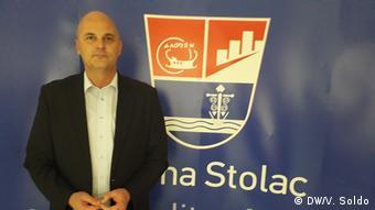 Bosnien und Herzegowina Mostar - Deutsche Hilfe für Frauen in Bosnien: Stjepan Boskovic, Bürgermeister von Stolac (DW/V. Soldo)