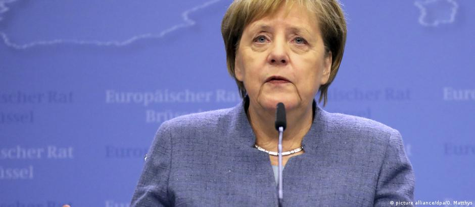 Em ranking das pessoas mais poderosas do mundo, Merkel ficou atrás apenas de Xi Jinping, Putin e Trump