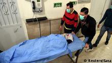 Syrien Mutmaßlicher Gas-Angriff in Aleppo