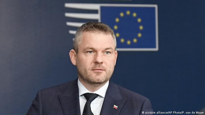 Peter Pellegrini, primer ministro de Eslovaquia.