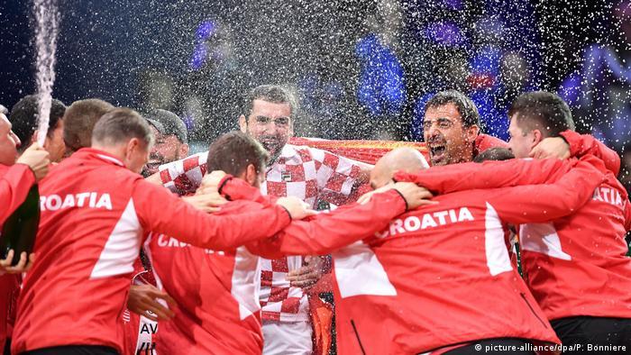 Tennis Davis Cup Finale Frankreich - Kroatien