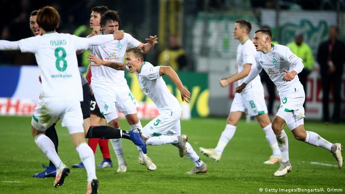 Fussball Bundesliga l SC Freiburg vs SV Werder Bremen – Tor 1:1 (Getty Images/Bongarts/A. Grimm)