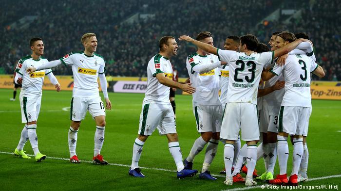 Fussball Bundesliga l Borussia Mönchengladbach vs Hannover 96 - Tor 2:1 (Getty Images/Bongarts/M. Hitij)