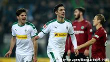 Fussball Bundesliga l Borussia Mönchengladbach vs Hannover 96 - Tor 3:1