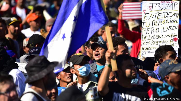 MEXICO-HONDURAS-US-MIGRATION (Getty Images/AFP/P. Pardo)