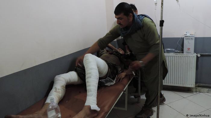 Afghanistan Anschlag in Khost | Verletzte in Krankenhaus