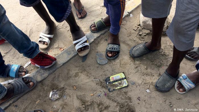 Libyen Migranten vor unsicherer Zukunft