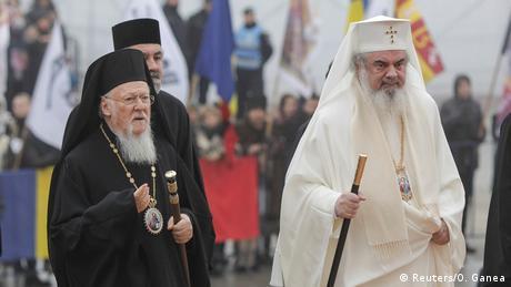 Patriarhul Ecumenic Bartolomeu I şi Patriarhul BOR Daniel