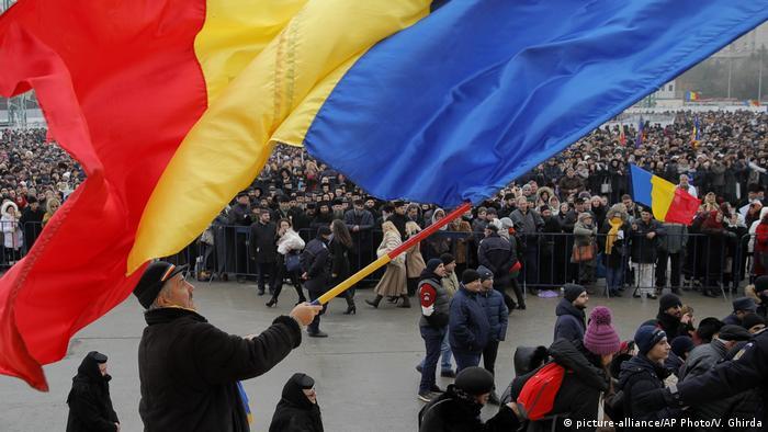 Rumänien Bukarest Einweihung Kathedrale zur Erlösung des Volkes