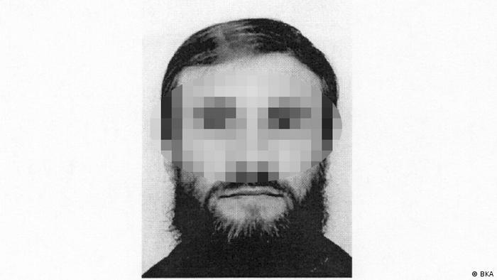 Fahndungsbild BKA deutscher Taliban Thomas K.