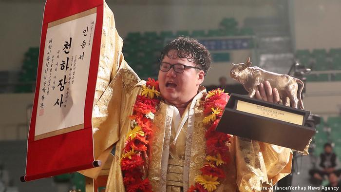 Südkorea Wrestling Cheonhajangsa Ssireum Championships | Park Jung-seok