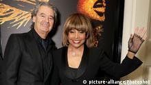 Tina Turner and Erwin Bach at 'Tina: The Tina Turner Musical' press night at Aldwych Theatre, London, United Kingdom - Tuesday April 17, 2018.  