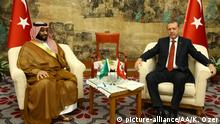 Saudi-Arabiens Kronprinz MbS und Erdogan
