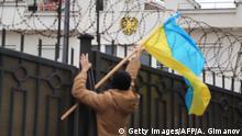 Ukraine russisches Konsulat in Kiew