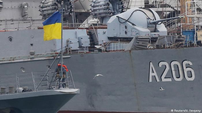 Корабли ВМС Украины в порту Одессы, 2018 год