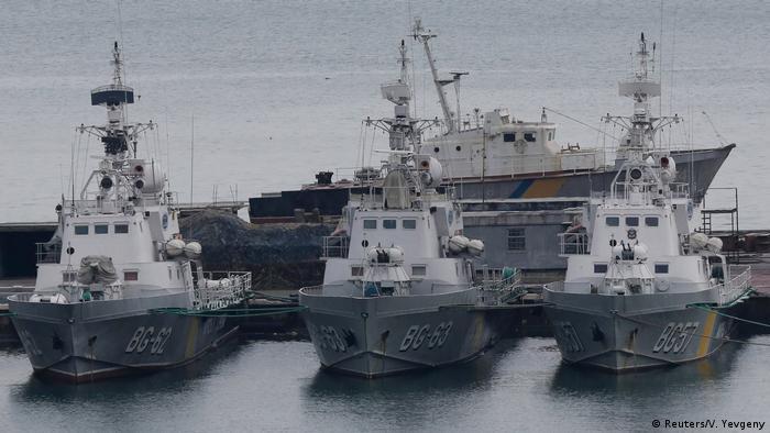 NATO gemileri Odessa limanında