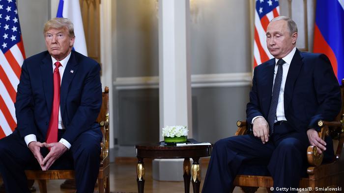Donald Trump und Wladimir Putin (Getty Images/B. Smialowski)