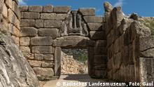 Das monumentale Löwentor: Haupteingang in die antike Stadt Mykene