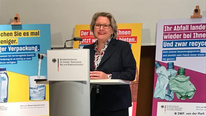 Deutschland Svenja Schulze Bundesumweltministerin