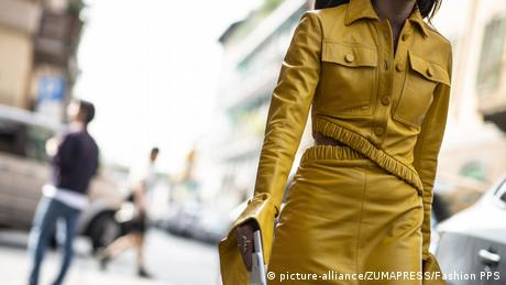 Mailand Fashion Week Frühling Sommer 2019 - Jil Sander (picture-alliance/ZUMAPRESS/Fashion PPS)