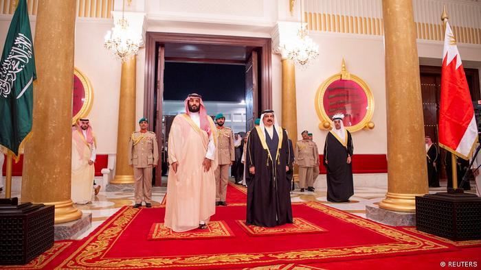 Bahrain - Saudischer Kronprinz Mohammed zu Besuch in Bahrain