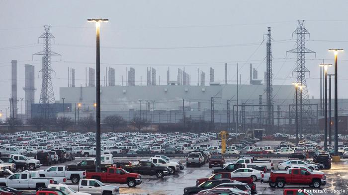 The General Motors assembly plant in Oshawa, Ontario, Canada November 26, (Reuters/C. Osorio)