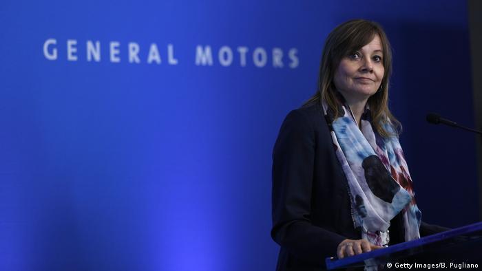Mary Barra, Hauptgeschäftsführerin von General Motors (Getty Images/B. Pugliano)