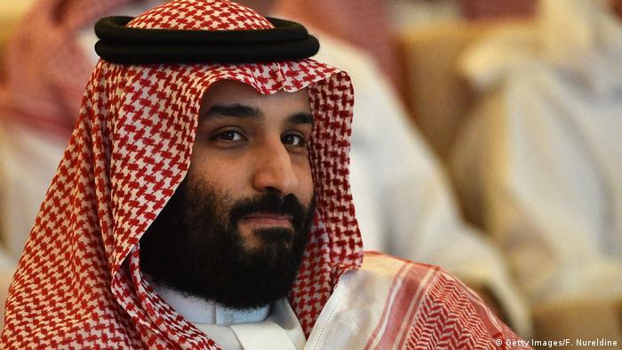 O príncipe herdeiro Salman