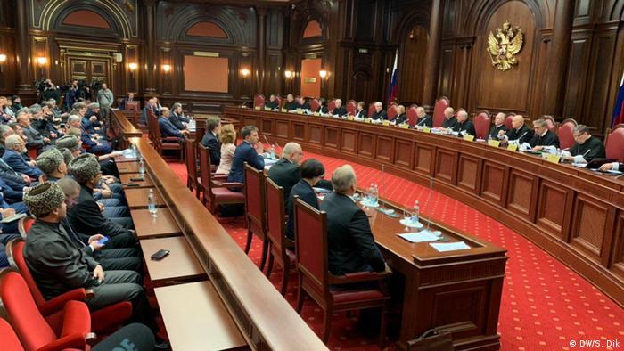 Заседание Конституционного суда РФ (фото из архива)
