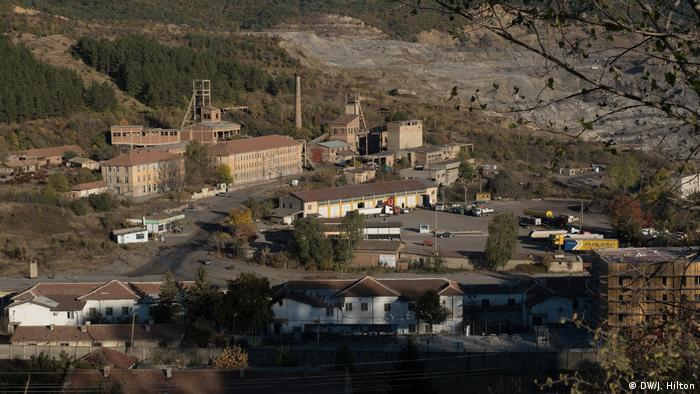 A closed down mine in Bulgaria (DW/J. Hilton)