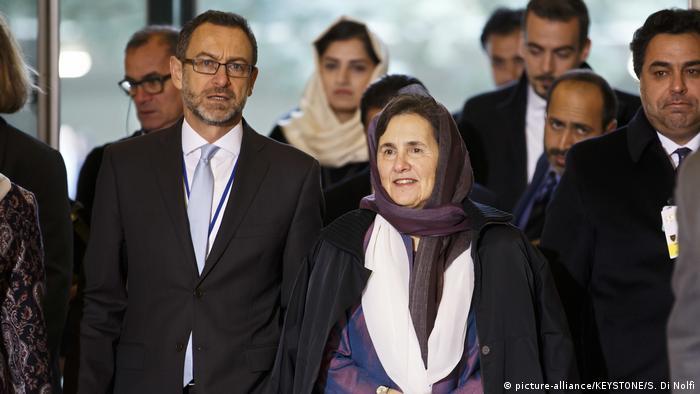 Schweiz Genf - Afghanistan-Konferenz: Rula Ghani