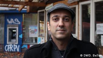 Berlin affordable housing activist Rouzbeh Taheri