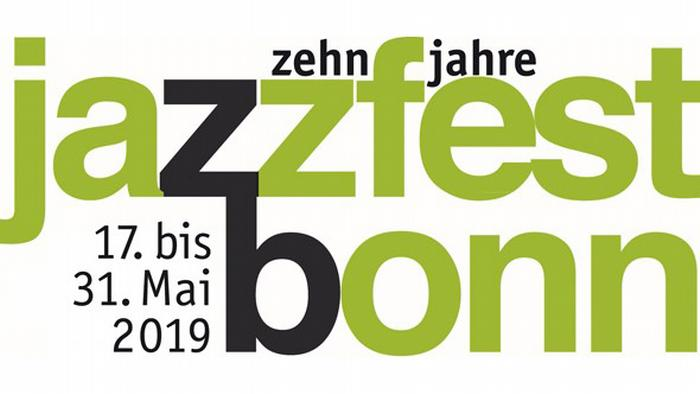 Logo for the Jazzfest Bonn 2019