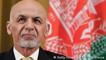 Schweiz - Afghanistan Konferenz in Genf: Ashraf Ghani (Getty Images/AFP/D. Balibiouse)
